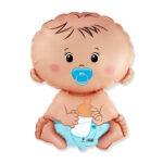 Folienballon Baby Blue