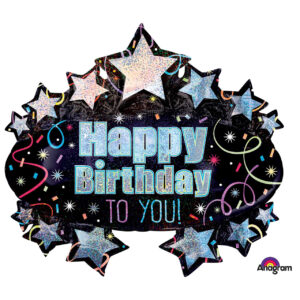 "Folienballon Marquee ""Happy Birthday"""