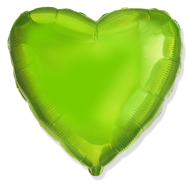 Folienballon in Herzform