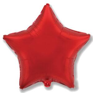 Folienballon in Sternform