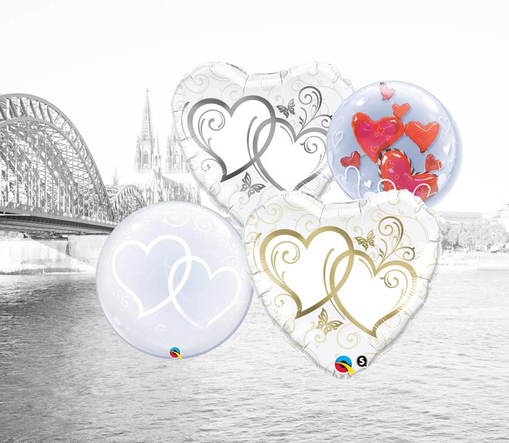 Folien Ballons für Hochzeiten