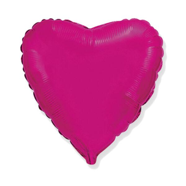 Folienballon Pink Herz