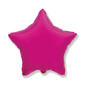 Folienballon Pink Stern