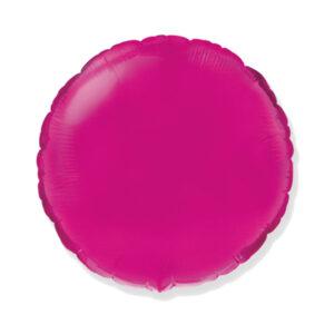 Folienballon Pink Rund