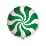 Ballon Candy Grün - Rund