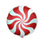 Ballon Candy Rot - Rund