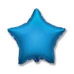 Folienballon Blau - Stern