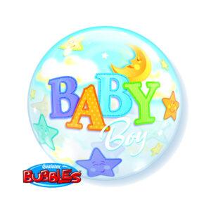 Bubbles Ballon Baby Boy Bubbles