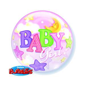 Bubbles Ballon Baby Girl Bubbles