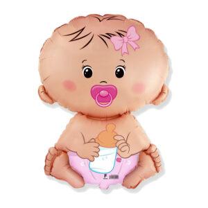 Folienballon Baby Pink