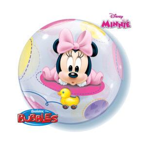 Bubbles Ballon Minnie Mouse