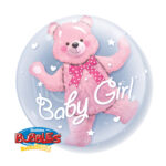 Folienballon Geburtstag / Geburt Mädchen