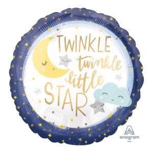 Folienballon Twinkle little Star