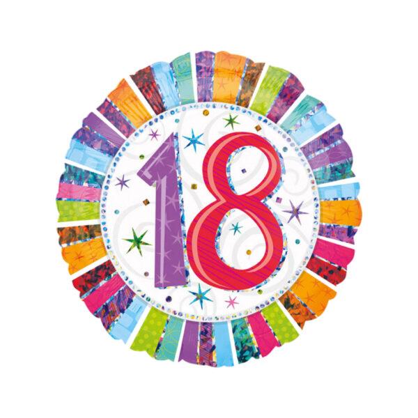 Folienballon Geburtstag 18
