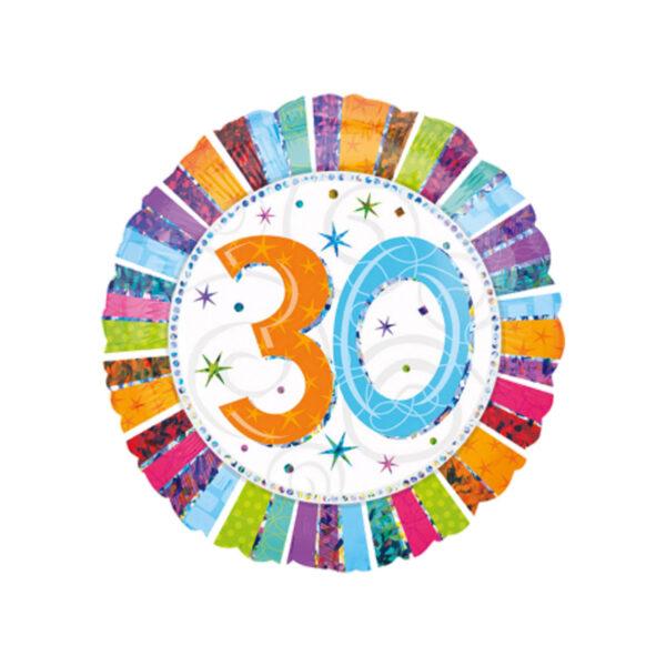 Folienballon Geburtstag 30