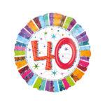 Folienballon Geburtstag 40