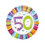 Folienballon Geburtstag 50