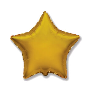 Folienballon Gold - Stern