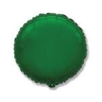 Folienballon Grün - Rund