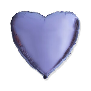 Folienballon Lila - Herz