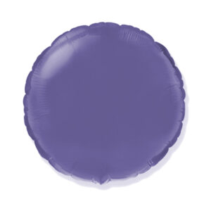 Folienballon Lila - Rund