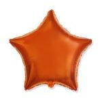 Folienballon Orange - Stern