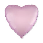 Folienballon Flieder Herz