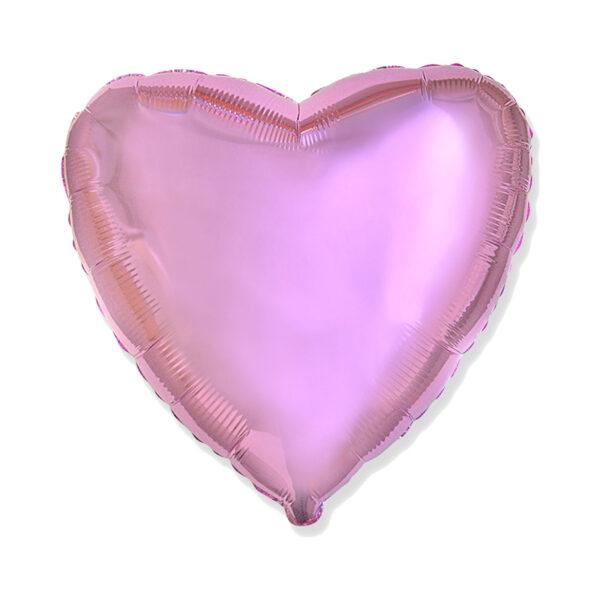 Folienballon Rosa - Herz