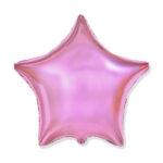 Folienballon Rosa - Stern