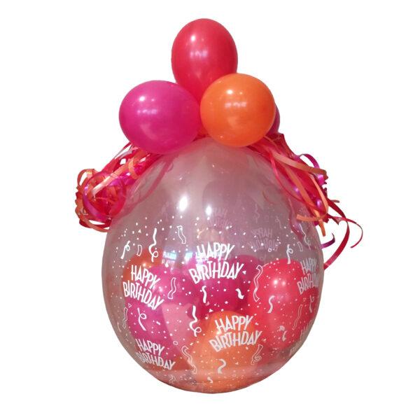 Gefüllter Geschenkballon