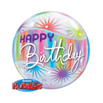 Ballon Happy Birthday - Sterne