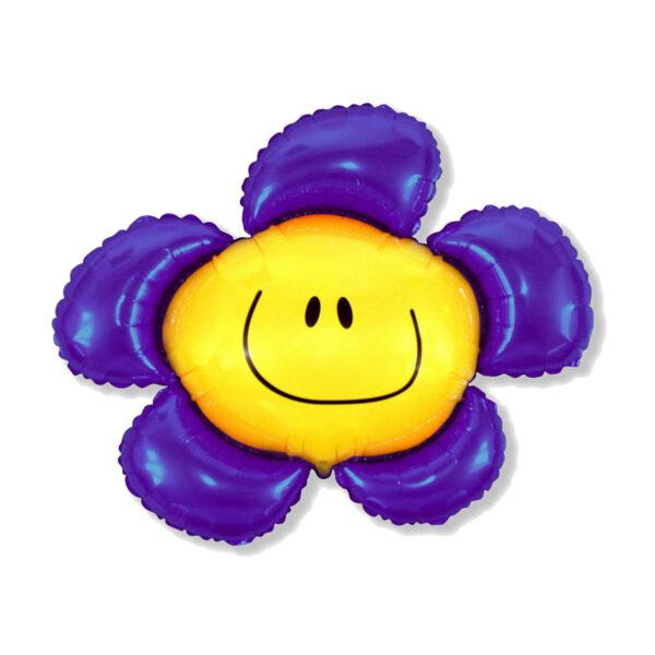 Folienballon Flower / Blume Lila