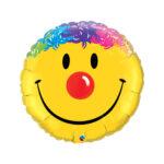 Folienballon Happy Face