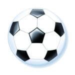 Fußball Luftballon - Kugel