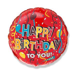 """Folienballon """"Birthday Ribbon"""""""