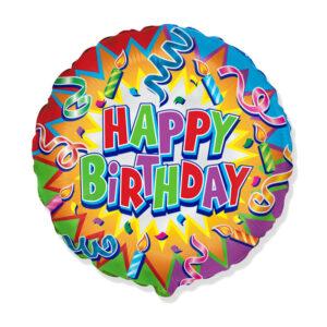 "Folienballon ""Birthday Candle"""