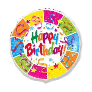 "Folienballon ""Birthday Party"""