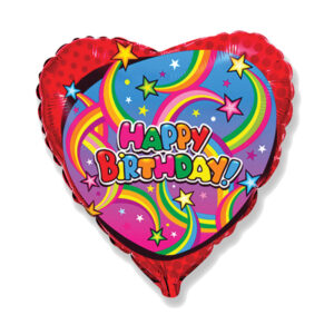 """Folienballon """"Birthday Stars"""""""